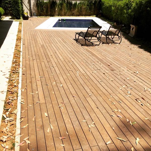 Deck madeira ecológica