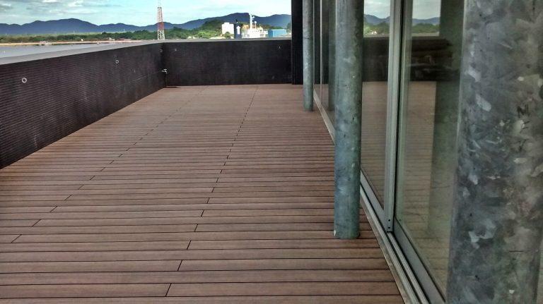 deck Madeira plastica ecologica #ecofront2