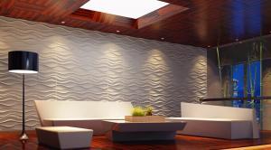 Painel Decorativo 3D Wellen